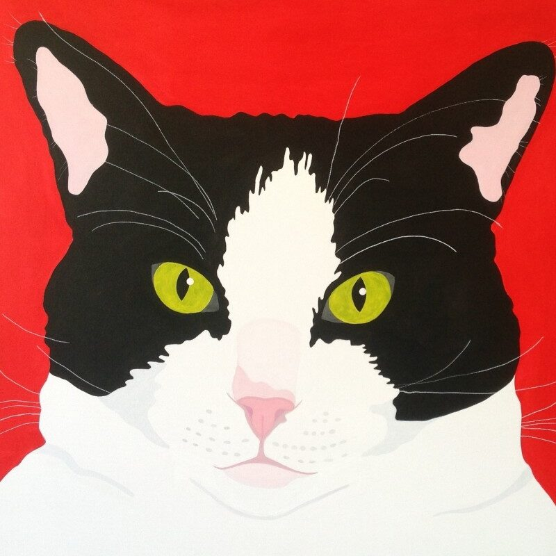 Pop-art Binkie 800x817